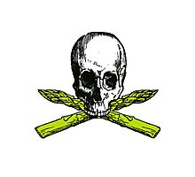 asparagus pirate Photographic Print