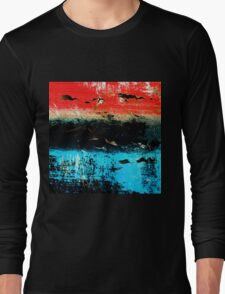 BIRDS ON THE SEA Long Sleeve T-Shirt