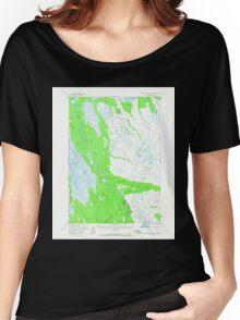 USGS TOPO Map Alaska AK Russian Mission B-1 358639 1952 63360 Women's Relaxed Fit T-Shirt