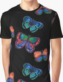3 Bold Butterflies Graphic T-Shirt