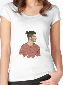 zayn malik Women's Fitted Scoop T-Shirt