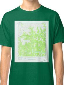 USGS TOPO Map Alaska AK Circle B-4 355014 1952 63360 Classic T-Shirt