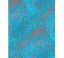 BLUE COR-TEN Photographic Print