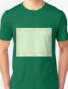 USGS TOPO Map Alaska AK Kuskokwim Bay 361072 1951 250000 Unisex T-Shirt