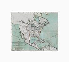 Vintage Map of North America (1743) Unisex T-Shirt