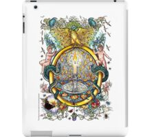 "The Illustrated Alphabet Capital  O  ""Getting personal"" iPad Case/Skin"