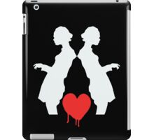Two Shadows Red Heart iPad Case/Skin