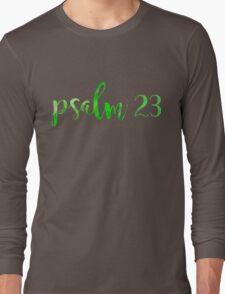 Psalm 23 Long Sleeve T-Shirt