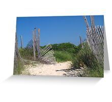 Corson's Inlet State Park Greeting Card