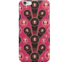 Funky background iPhone Case/Skin