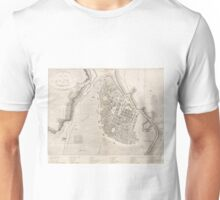 Vintage Map of Odessa Ukraine (1827) Unisex T-Shirt