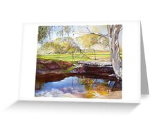 The Bridge at Euroka Greeting Card