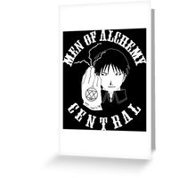 Men of Alchemy - Central Greeting Card