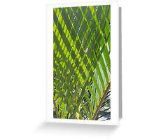 Cross Palms Greeting Card