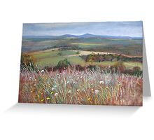 'Meadow Grasses, Anzac Hill' (Seymour) Greeting Card
