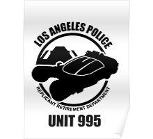 Unit 995 Replicant Hunters Poster