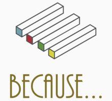 Blocks Illusion One Piece - Short Sleeve
