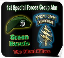 1st Special Forces Group (Abn) Poster