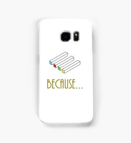 Blocks Illusion Samsung Galaxy Case/Skin