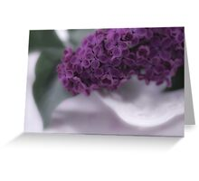 Lilac Love Greeting Card