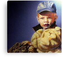 The Golden Child Canvas Print