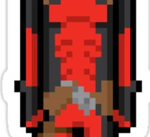 8Bit Deadpool Sticker