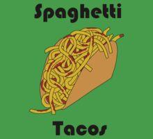 Spaghetti Taco One Piece - Short Sleeve