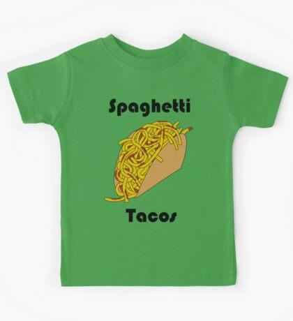 Spaghetti Taco Kids Tee