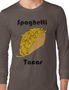 Spaghetti Taco Long Sleeve T-Shirt
