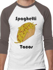 Spaghetti Taco Men's Baseball ¾ T-Shirt