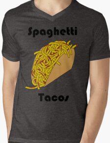 Spaghetti Taco Mens V-Neck T-Shirt