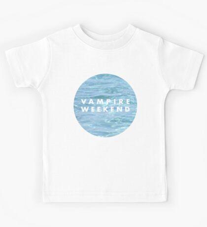 Water Vampire Weekend Logo Kids Tee