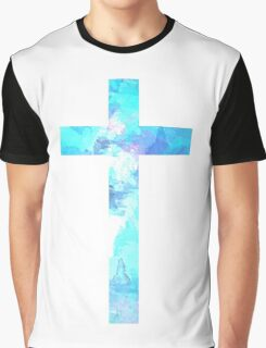 Christian Cross Graphic T-Shirt