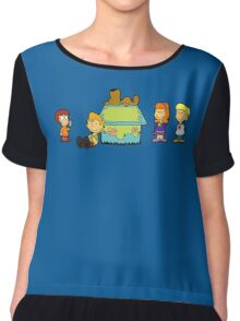 Shaggy Brown and The Scooby Crew  Chiffon Top