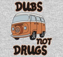 Dubs not Drugs - VW Camper One Piece - Short Sleeve