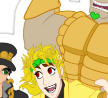 Dio Can Show You The World Sticker
