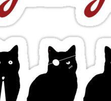 Feed da gang of cats Sticker