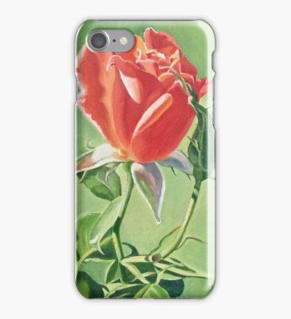 """Peace Rosebud"" iPhone Case/Skin"