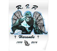 RIP Haramabe Poster