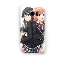 Chibi Oregairu Characters Samsung Galaxy Case/Skin