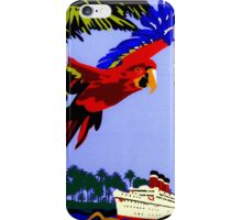 """AMAZON BRAZIL RIVER"" Vintage Cruise Print iPhone Case/Skin"