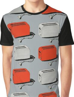 Toaster (red & grey) Graphic T-Shirt