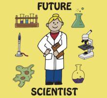Future Scientist - Girl Light Baby Tee