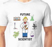 Future Scientist - Girl Light Unisex T-Shirt