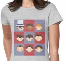 Detective Conan Bobbleheads Womens Fitted T-Shirt