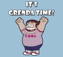 "IT""S GRENDA TIME! Kids Tee"