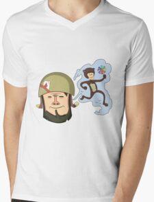 Soldier's dream Mens V-Neck T-Shirt