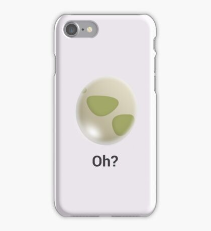 Oh?  iPhone Case/Skin