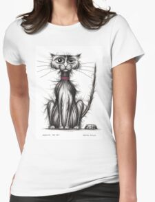 Sardine the cat Womens Fitted T-Shirt
