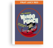 Wahoo Punch Canvas Print
